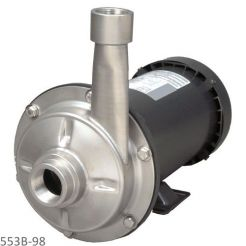 553B-98 - FORMED STAINLESS STEEL STRAIGHT CENTRIFUGAL PUMPS