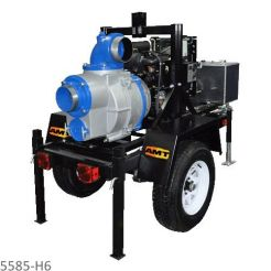 5585-H6 - SELF-PRIMING ENGINE DRIVEN TRASH PUMPS